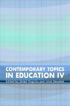 Naslovnica za Contemporary Topics in Education IV: Part I