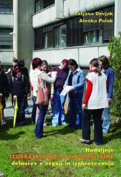 Naslovnica za Nadaljnje izobraževanje in usposabljanje delavcev v vzgoji in izobraževanju