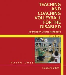 Naslovnica za Teaching and coaching volleyball for the disabled