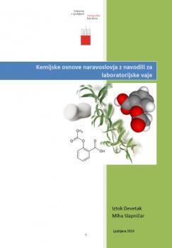 Naslovnica za Kemijske osnove naravoslovja z navodili za laboratorijske vaje