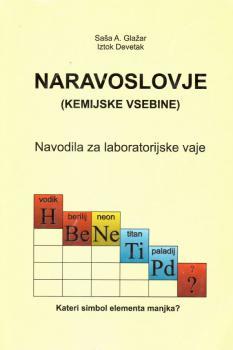 Naslovnica za Naravoslovje (kemijske vsebine): Navodila za laboratorijske vaje