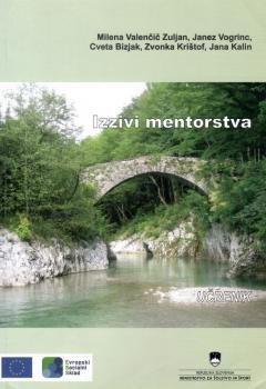 Naslovnica za Izzivi mentorstva: učbenik