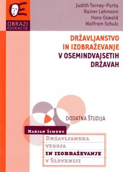 Naslovnica za Državljanstvo in izobraževanje v osemindvajsetih državah: državljanska vednost in angažiranost pri štirinajstih letih