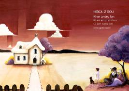 Naslovnica za Hišica iz soli: romske zgodbe in pesmi